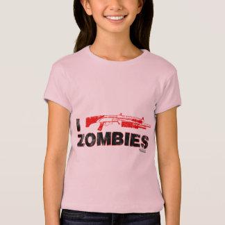 I Shotgun Zombies - Gun Shoot Kill Mutant Zomb T Shirts