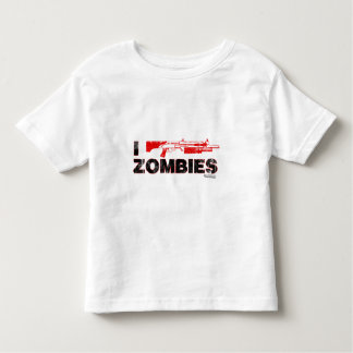 I Shotgun Zombies - Gun Shoot Kill Mutant Zomb Toddler T-Shirt