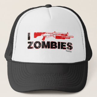 I Shotgun Zombies - Gun Shoot Kill Mutant Zomb Trucker Hat