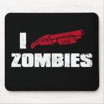 i shotgun zombies mouse mats