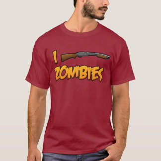 I Shotgun Zombies! T-Shirt