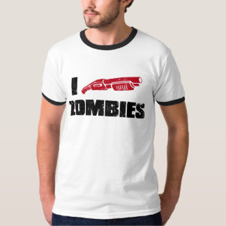i shotgun zombies T-Shirt