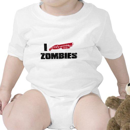 i shotgun zombies tshirt