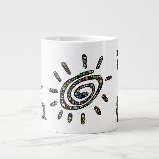 I simply am fully human and full of life large coffee mug