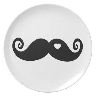 I simply love Moustache Plate