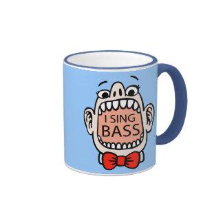 I Sing Bass Barbershop Mug