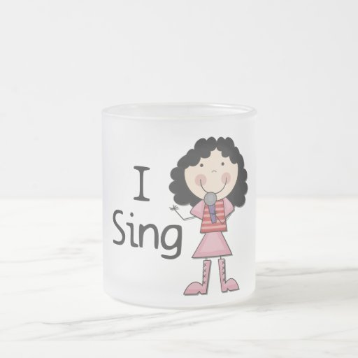 I Sing Female Tshirts and Gifts Mug