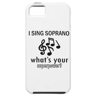 I sing Soprano Case For The iPhone 5
