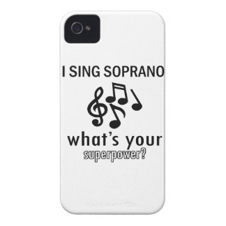 I sing Soprano iPhone 4 Cover