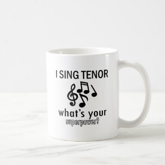 I sing Tenor Mug