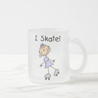 I Skate Girl Roller Skater Coffee Mug