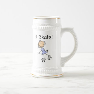 I Skate - Girl Roller Skater Coffee Mugs