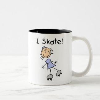 I Skate - Girl Roller Skater Mug