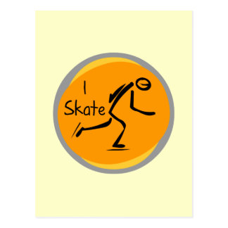 I Skate T-shirts and Gifts Postcard
