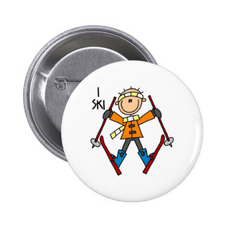 I Ski Button