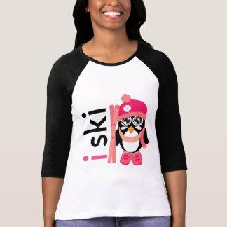 I Ski Penguin Tshirt