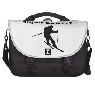 I Ski What s Your Super Power Commuter Bags