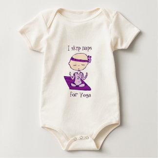 i skip naps for yoga baby bodysuit