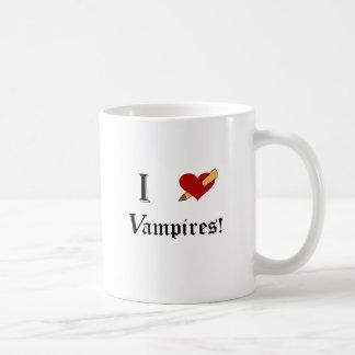 I Slay Vampires Classic White Coffee Mug