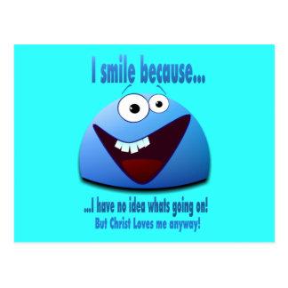 I smile because V2 Postcards