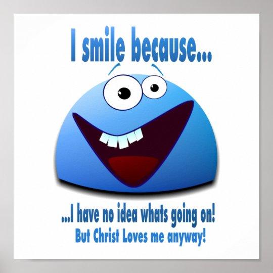 I smile becauseV2 Poster