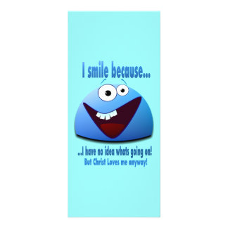 I smile because...V2 Rack Card Template