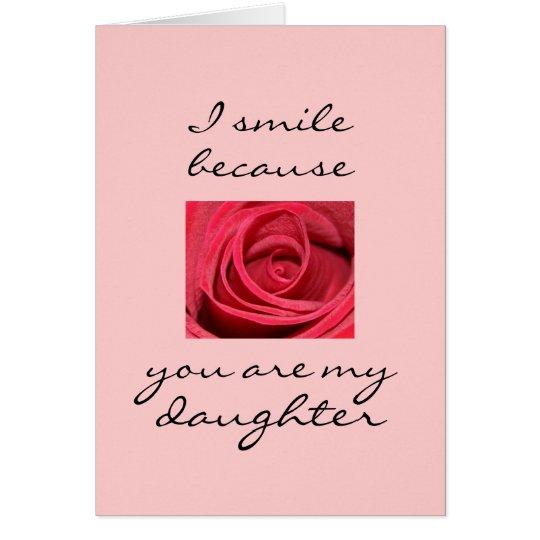 I smile card