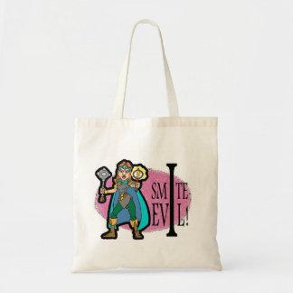I Smite Evil Budget Tote Bag