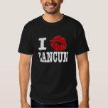 """I """"smooch"""" Cancun Shirts"""