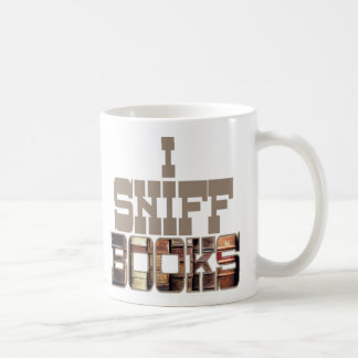I Sniff Books Coffee Mug