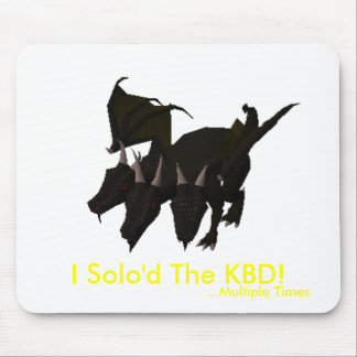 I Solo'd The KBD! (Multiple Times) Mouse Mat
