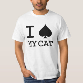 'I SPADE MY CAT' CAT LOVER RESCUE T-Shirt