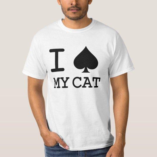 'I SPADE MY CAT' CAT LOVER RESCUE T-Shirt