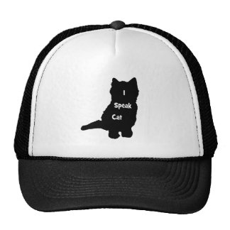 I Speak Cat Cap