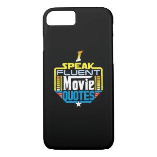 I Speak Fluent Movie Quotes Phone Case