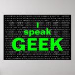I speak Geek