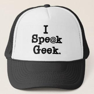 I Speak Geek Trucker Hat