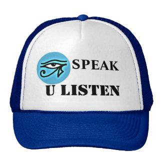 I Speak U Listen Hat