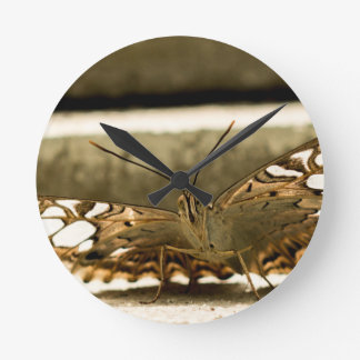 I Spy a Butterfly Round Wall Clock