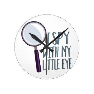 I Spy Clock