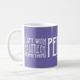 I Spy Periwinkle Mug