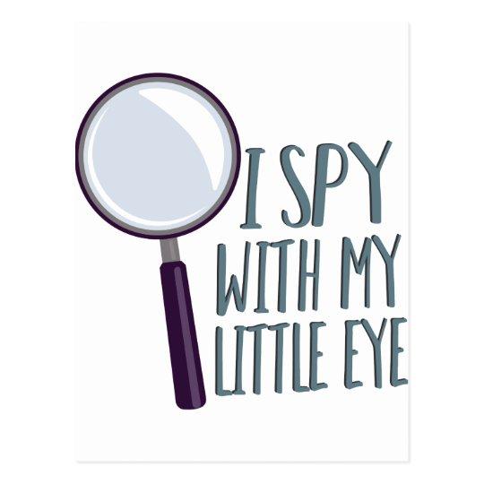 I Spy Postcard