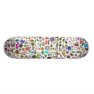 I spy with my little eye Deck Custom Skate Board