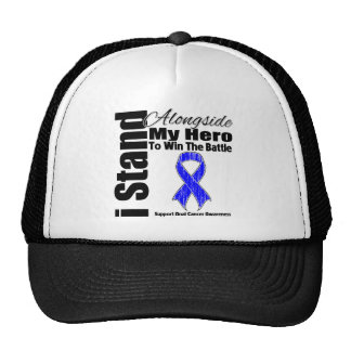 I Stand Alongside My Hero Anal Cancer Cap