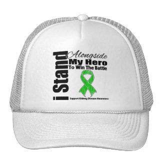 I Stand Alongside My Hero Kidney Disease Trucker Hats