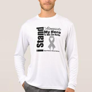 I Stand Alongside My Hero Parkinson's Disease Tshirt