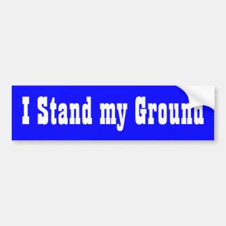 I Stand my Ground Bumper Sticker