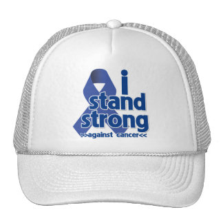 I Stand Strong Against Anal Cancer Mesh Hat