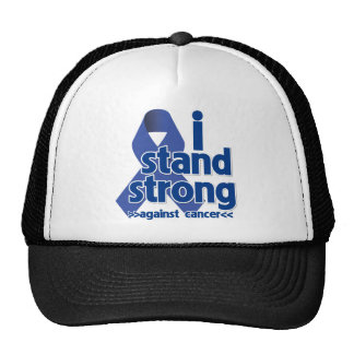 I Stand Strong Against Anal Cancer Mesh Hats