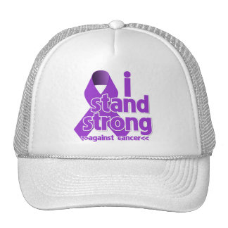 I Stand Strong Against Leiomyosarcoma Mesh Hats